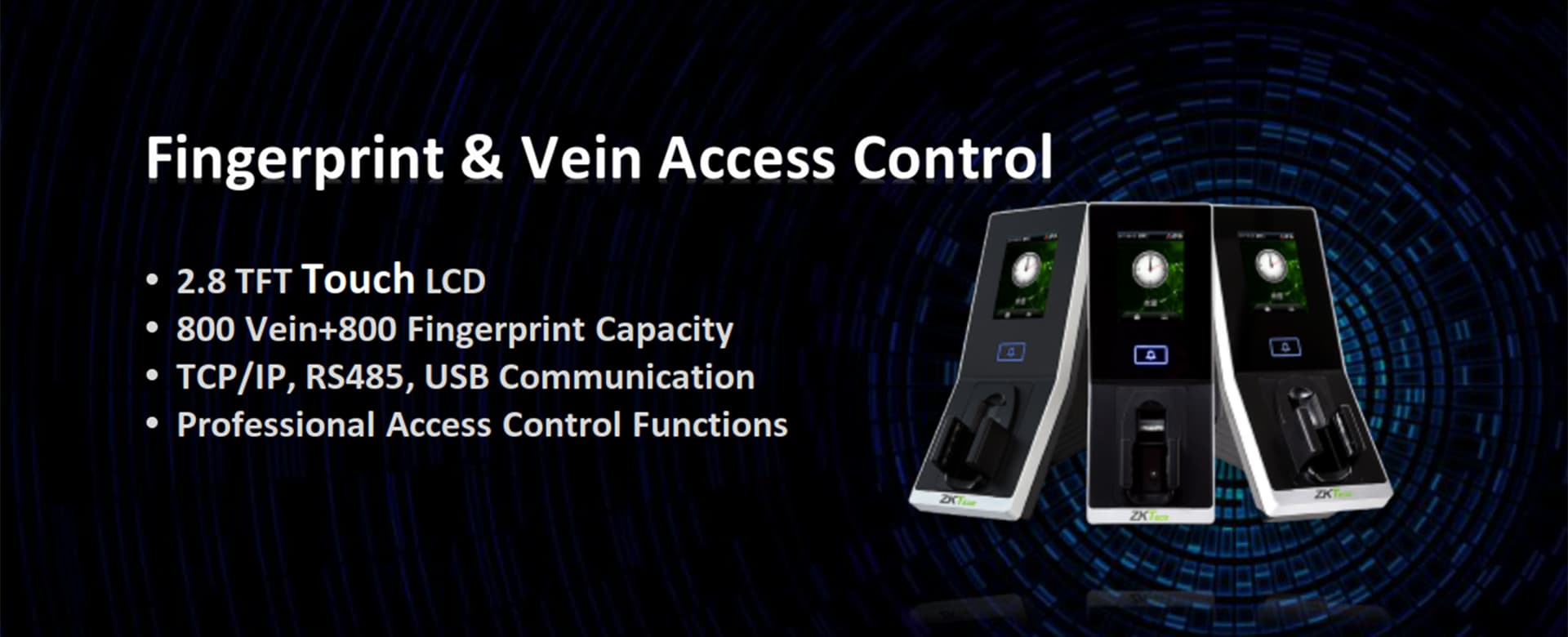 FJ200 Fingerprint Vein Access Control-s