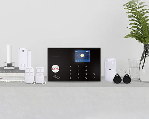 G300-WiFi and 4GSM Smart Alarm System