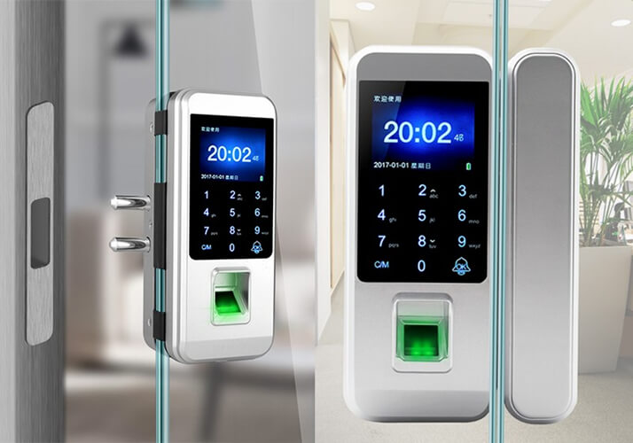 LK-8801 Fingerprint Glass Door Lock