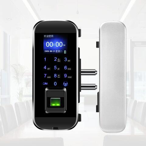 LK-1101 Fingerprint Glass Door Lock