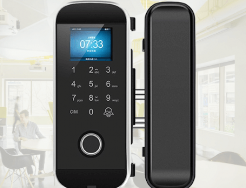 Semi-conductor Fingerprint Glass Door Lock LK-1108
