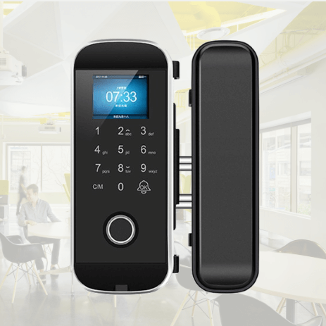 LK1108 Fingerprint Lock for Glass Door