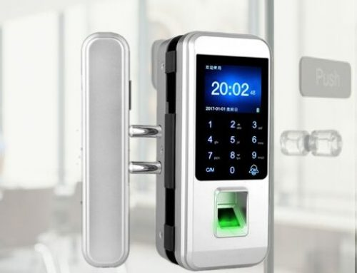 Fingerprint Lock for Glass Door LK-8801