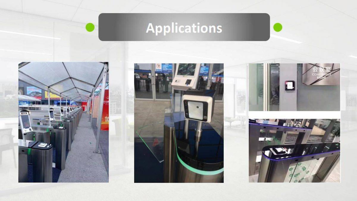 ZKTeco R401 QR Reader Applications