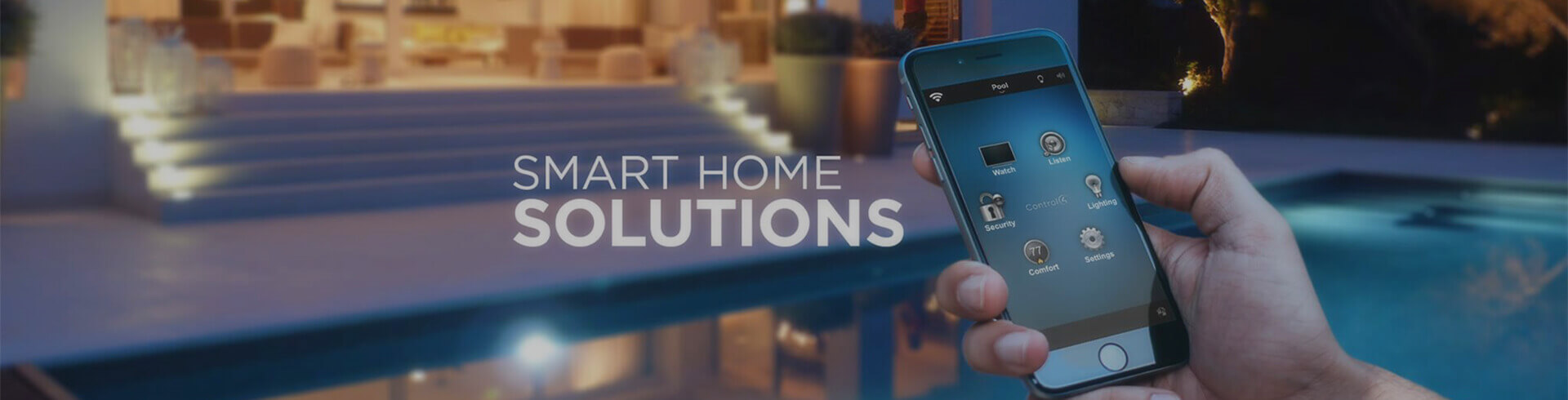 Smart Home Control Banner