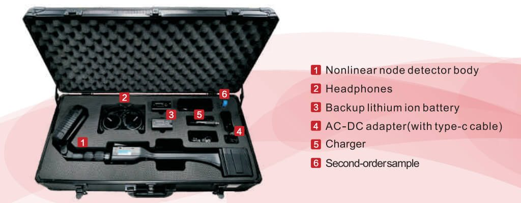DT-830 Thermal Non-liear Junction Detector Packing Box