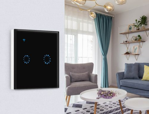 Smart WiFi Light Switch EU Standard LS-EU1/2/3Gang