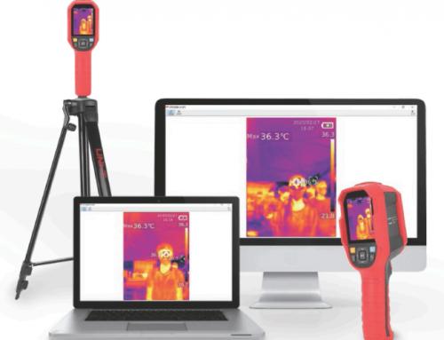 Thermal Imaging Thermometer UTI165K to Prevent Coranavirus Spreading