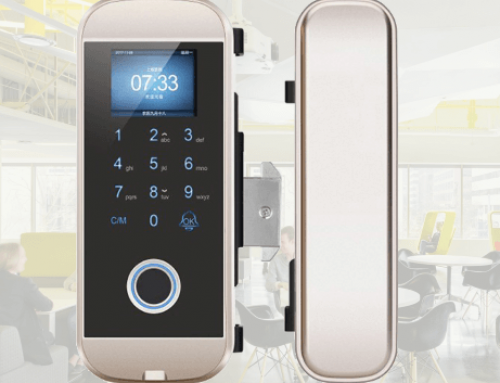 Smart Fingerprint Lock for Glass Door LK-8801-J