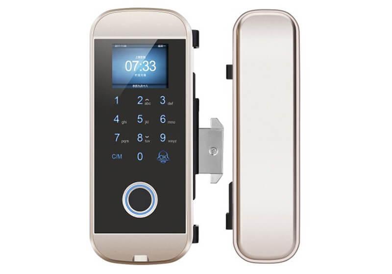 LK-1108-J Fingerprint Lock for Glass Door
