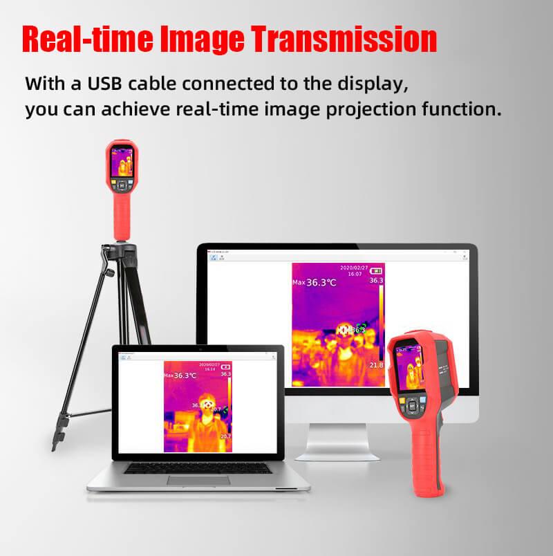 uti165K Thermal Imaging Thermometer-PC Monitoring