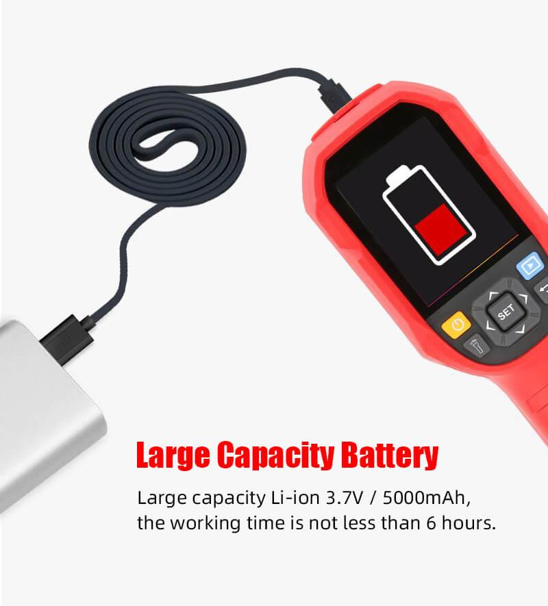uti165k thermal imaging thermometer Large capacity battery
