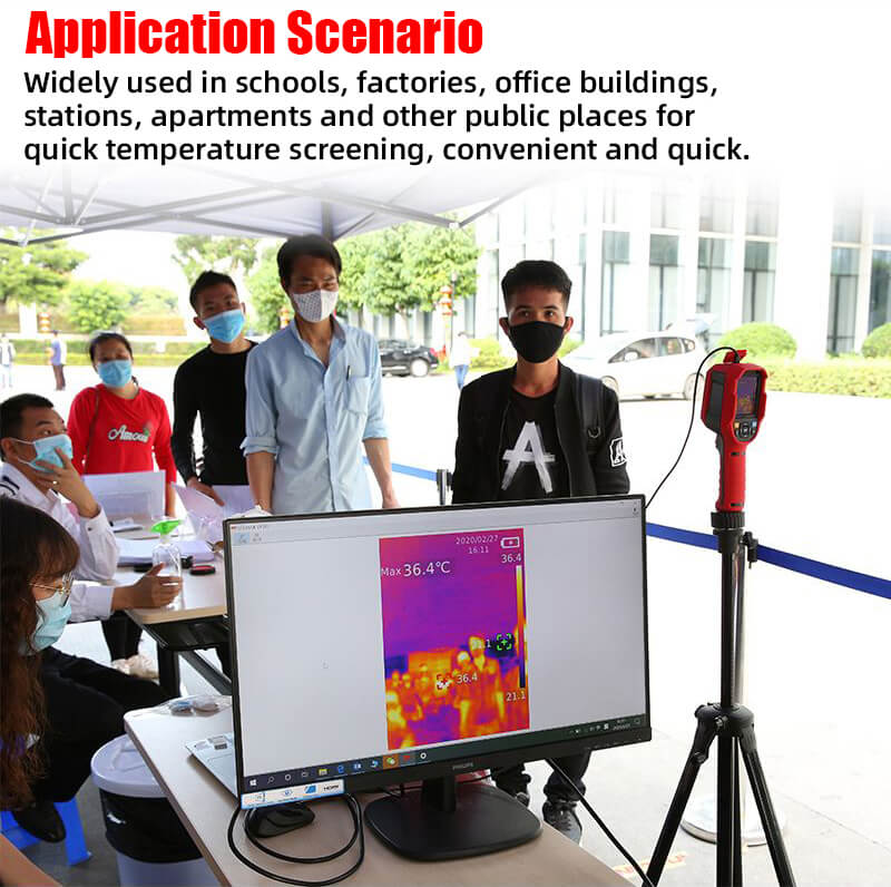 uti165k thermal imaging thermometer wide application