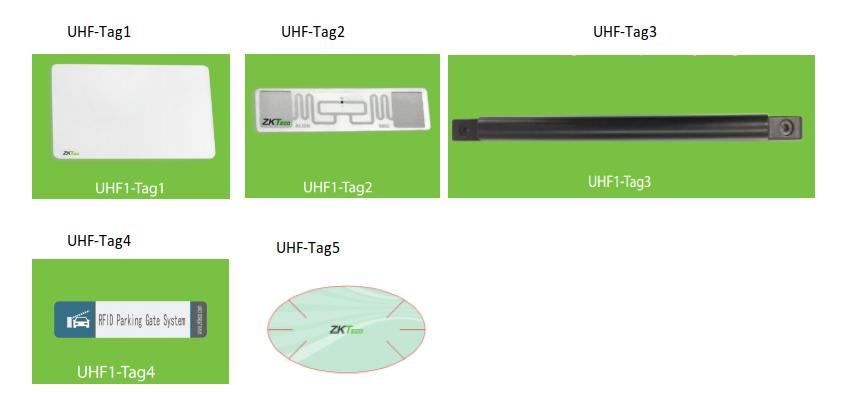 ZKTeco UHF Tags