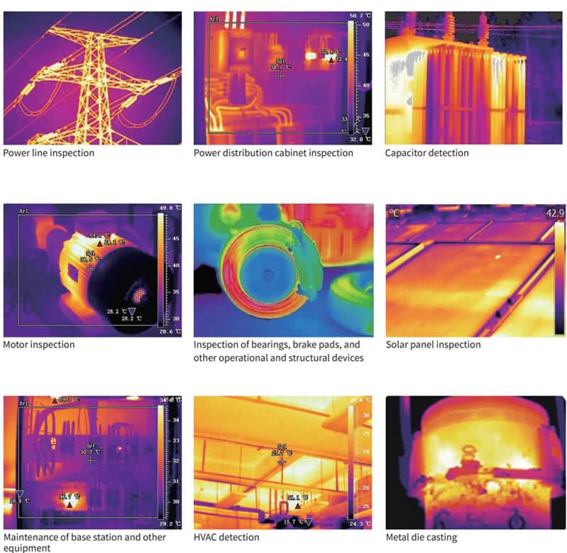 UTI Thermal Imager Cameras Applications Pic