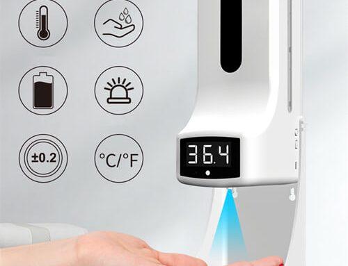 K9Pro Auto Soap Dispenser with Temperature Measurement