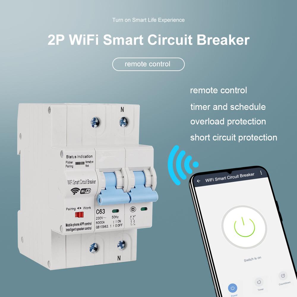 Smart WiFi Circuit Breaker-P1