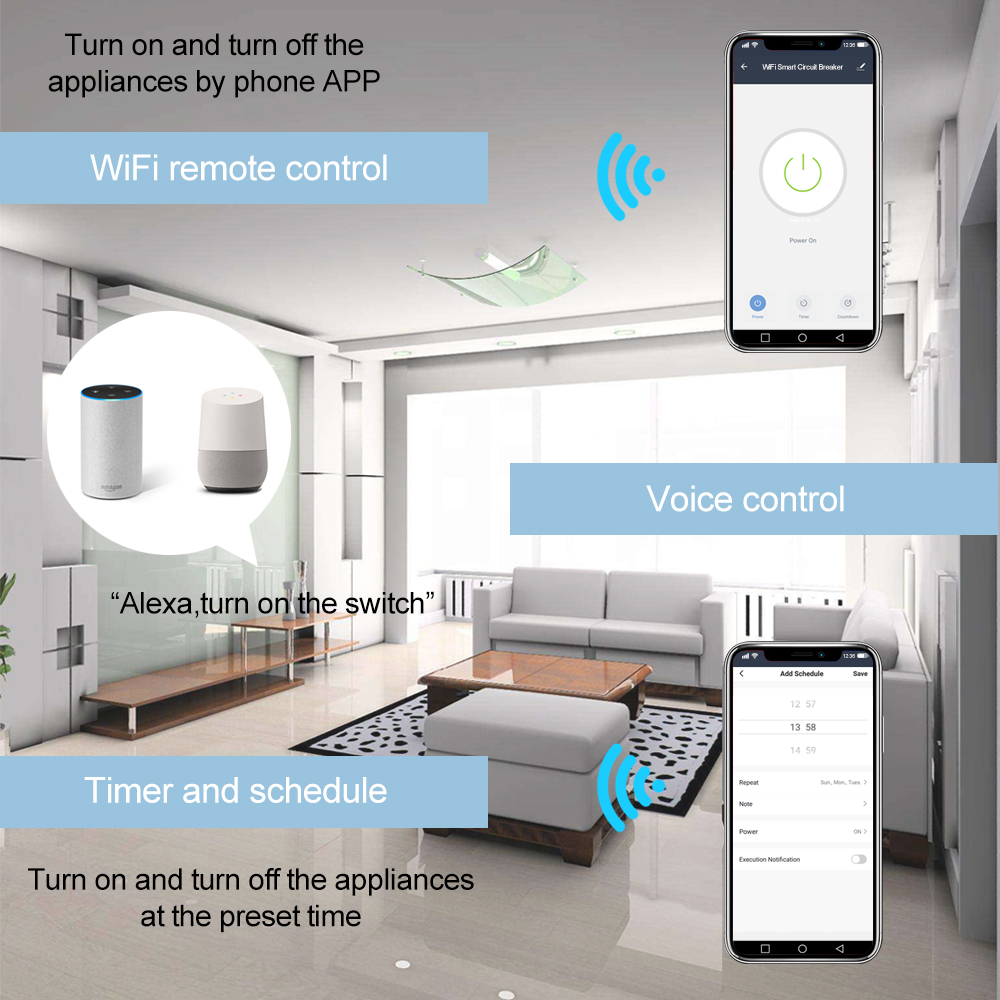 Smart WiFi Circuit Breaker-P2