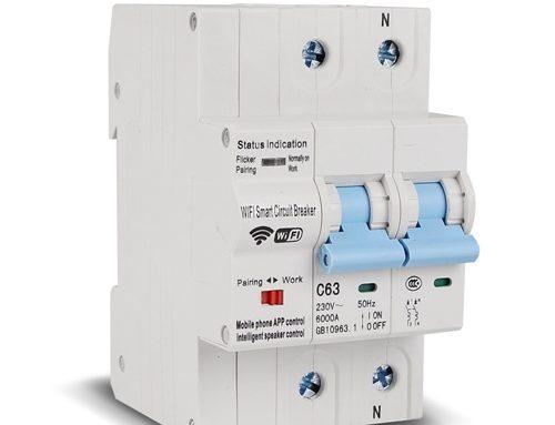 Tuya Smart WiFi Circuit Breaker with Energy Statistics WCB100