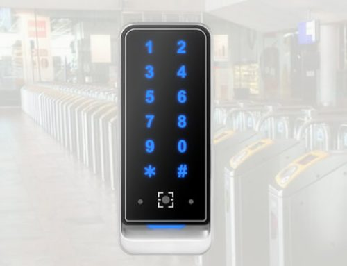 ZKTeco Dynamic QR Code and MF Reader for Access Control System QR378