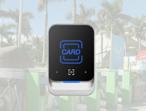 Dynamic QR Reader and RFID Reader for Access Control QR377