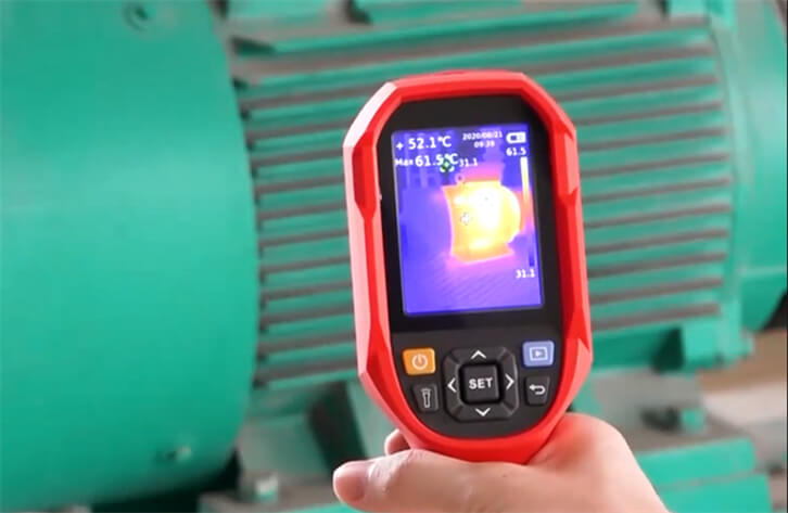 Thermal Imaging Application Motor Inspection