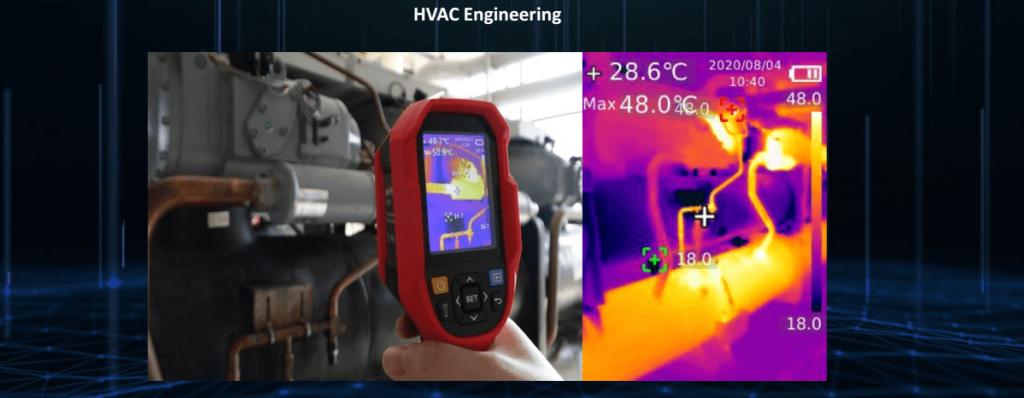 Thermal Imaging Camera HVAC Engineering
