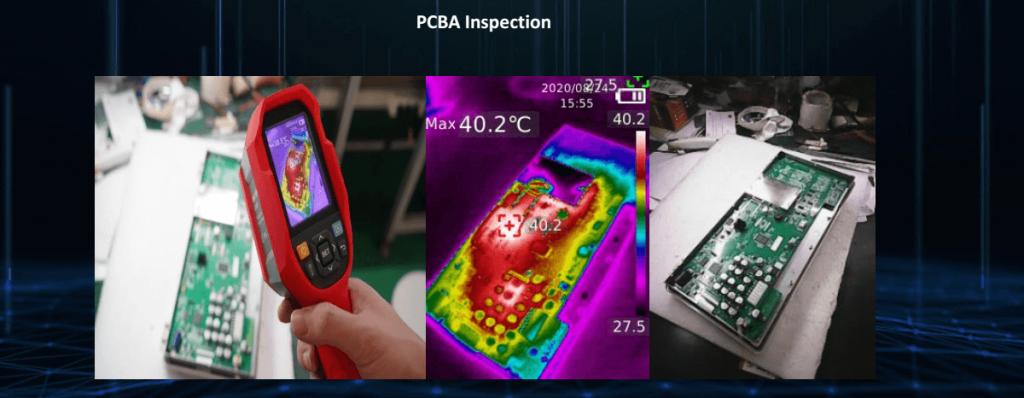 Thermal Imaging Camera PCBA Inspection