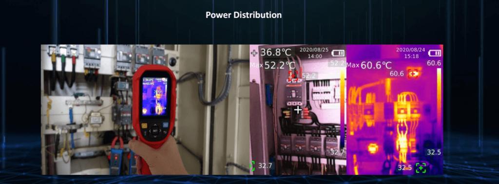 Thermal Imaging Camera Power Distribution Checking