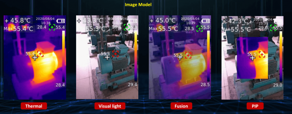 Thermal Imaging Pictures Mode