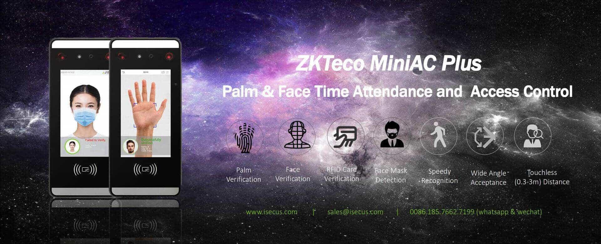ZKTeco MiniAC Plus Banner-www.isecus.com