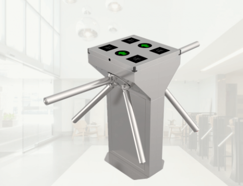 Double Tripod Turnstile for Access Control System TS129-2