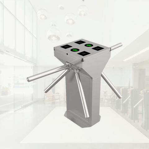 TS129-2 Double Tripod Turnstile for Access Control-featured pic