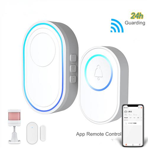 DB110 Tuya WiFi Doorbell and Alarm Hub-P2