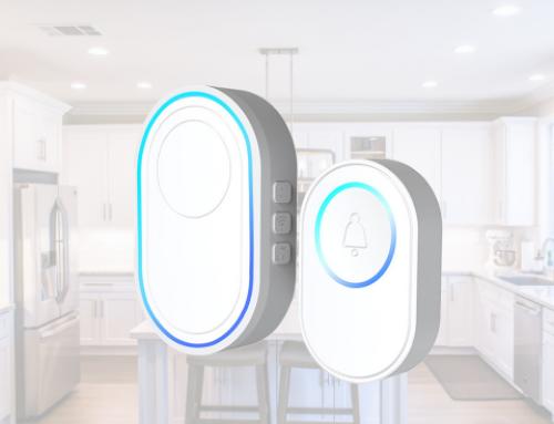 Tuya WiFi Door Bell and Alarm Host DB110