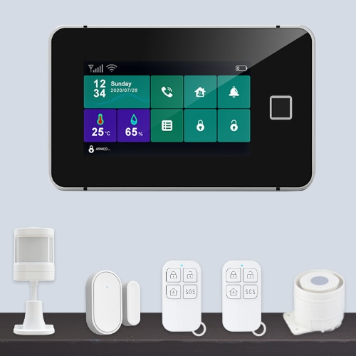 Touch Sreen WiFi Alarm System Kit G600-Featured Pic