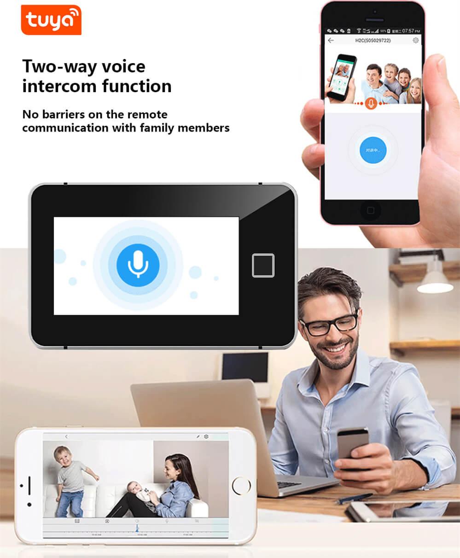 Touch Sreen WiFi Alarm System Kit-P9