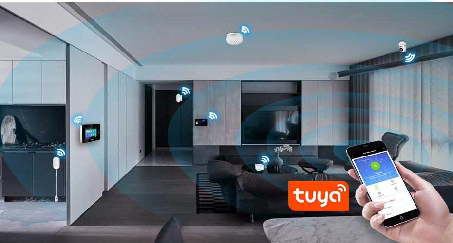 Tuya Smart WiFi Alarm System Kit G95-Marketing P2
