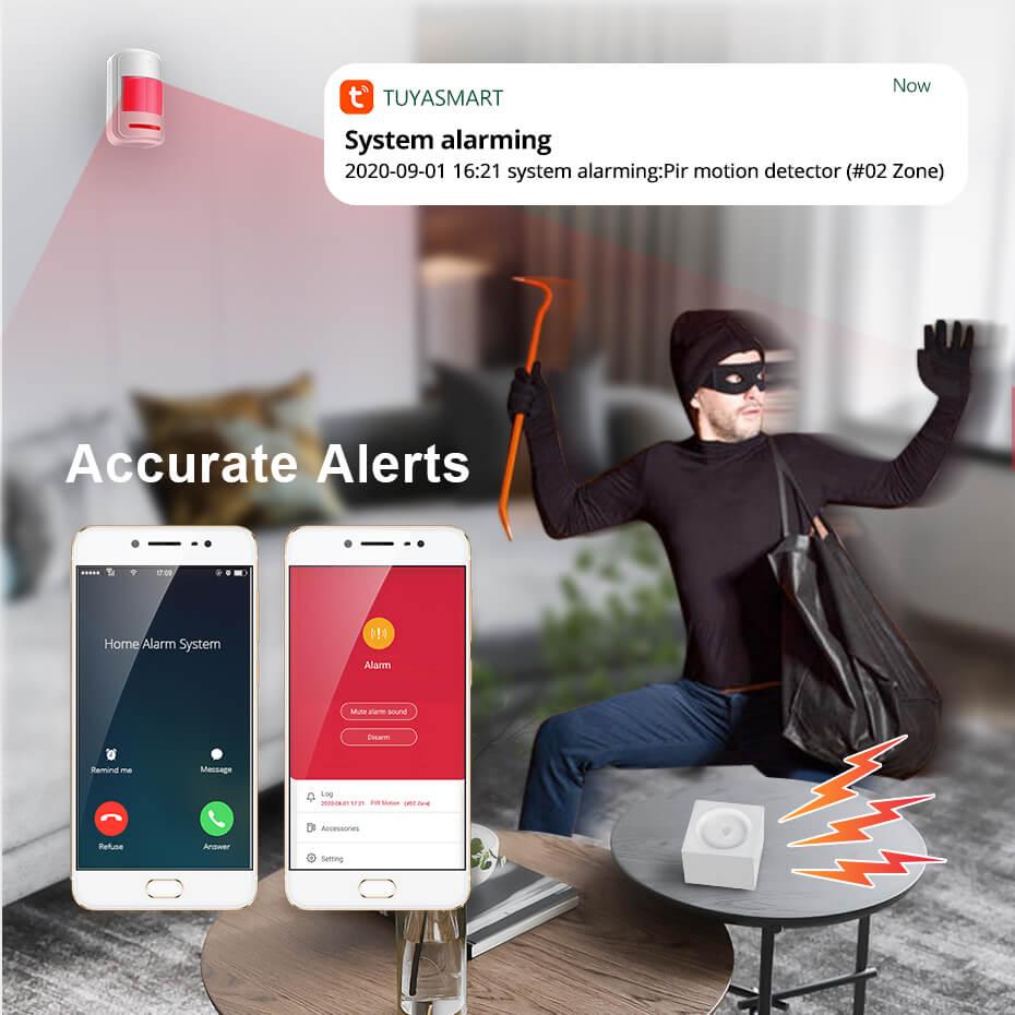 Tuya Smart WiFi Alarm System Kit G95-Marketing P5