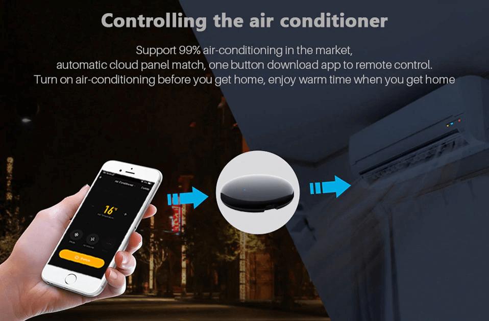 Tuya Smart WiFi IR Remote Controller-P6