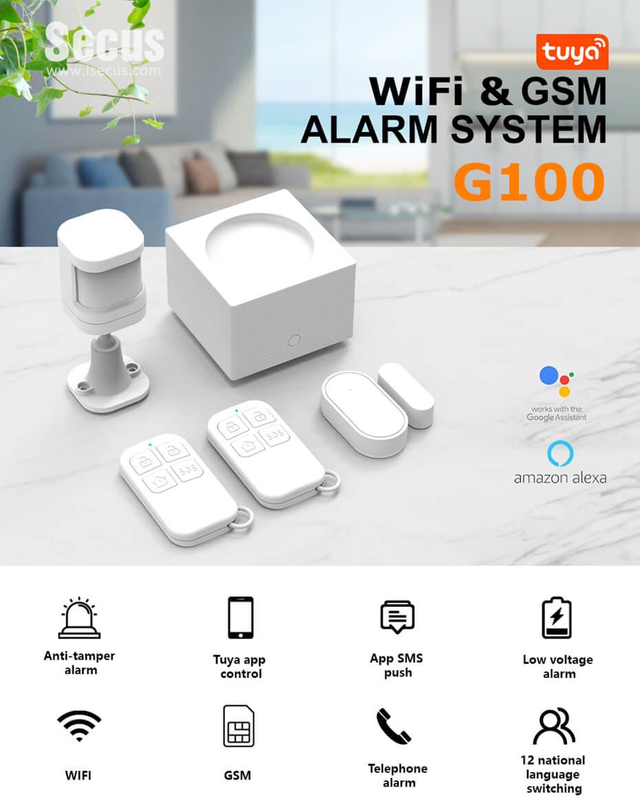 G100 WiFi and GSM Alarm Kit -P3