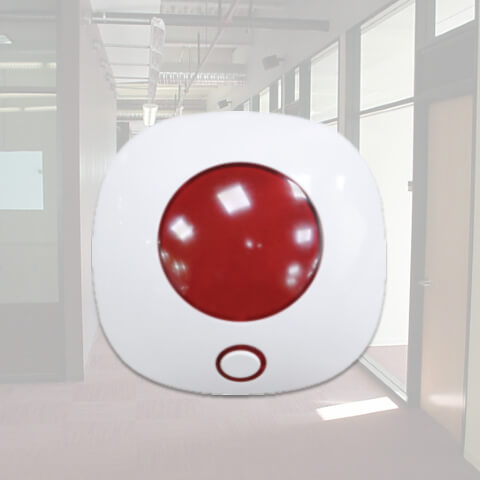 SN100 Wireless Siren Alarm for Home Security-isecus