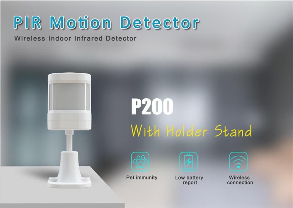Wireless PIR Motion Detector Pete Immunity-P200-P1