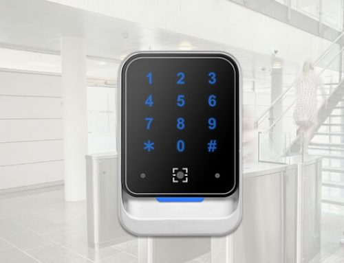 QR Code and RFID Wiegand Reader with Keyboard for Access Control QR800