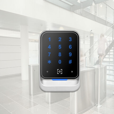 QR800 Dynamic QR and RFID Wiegand Reader with touchkey boards-iSecus