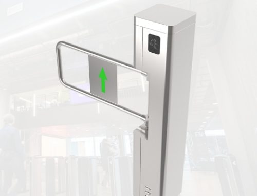 Swing Gate Turnstile for Access Control System ST310